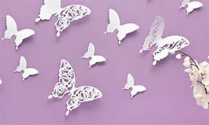 3d Schmetterlinge Wand : 3d ~ Whattoseeinmadrid.com Haus und Dekorationen