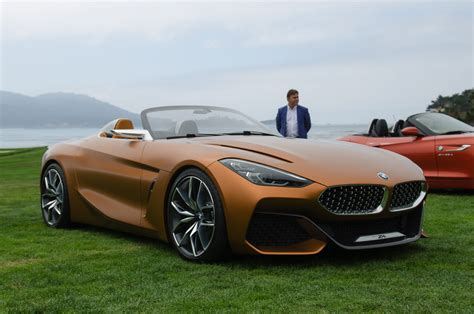 bmw concept first live photos of bmw concept z4 at pebble beach