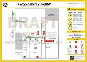 Evacuation Diagram Sample Download - Factory