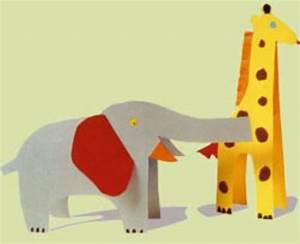 Bastelvorlagen Tiere Zum Ausdrucken : basteln mit kindern kostenlose bastelvorlage tiere tiere aus papier ~ Frokenaadalensverden.com Haus und Dekorationen