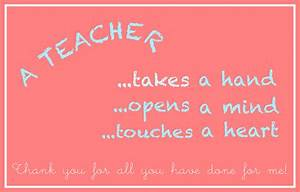 8 Best Images of Thank You Cards Printable For Teachers ...