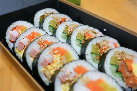 korean sushi gimbap wikipedia