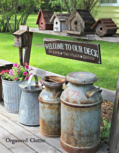 25 best ideas about vintage garden decor on
