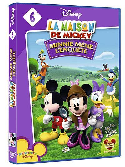 dvd minnie m 232 ne l enqu 234 te maison de mickey dvd s 233 ries