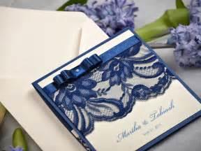 navy wedding invitations custom listing 20 navy lace ecru wedding invitation pocket fold wedding invitations vintage