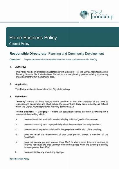 Policy Template Templates Allbusinesstemplates