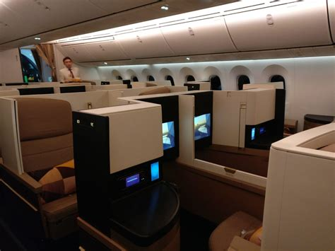 review etihad airways business class boeing