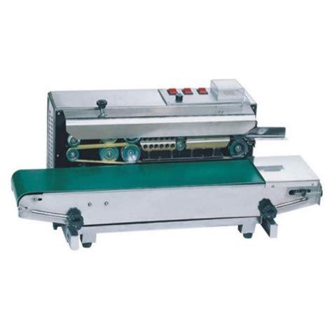 band sealing machine continuous band sealer manufacturer  delhi