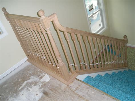 Gooseneck Transition With Different Stair