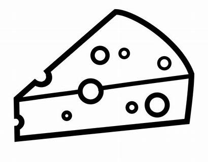 Cheese Clipart Outline Drawing Clipground Transparent Pngitem