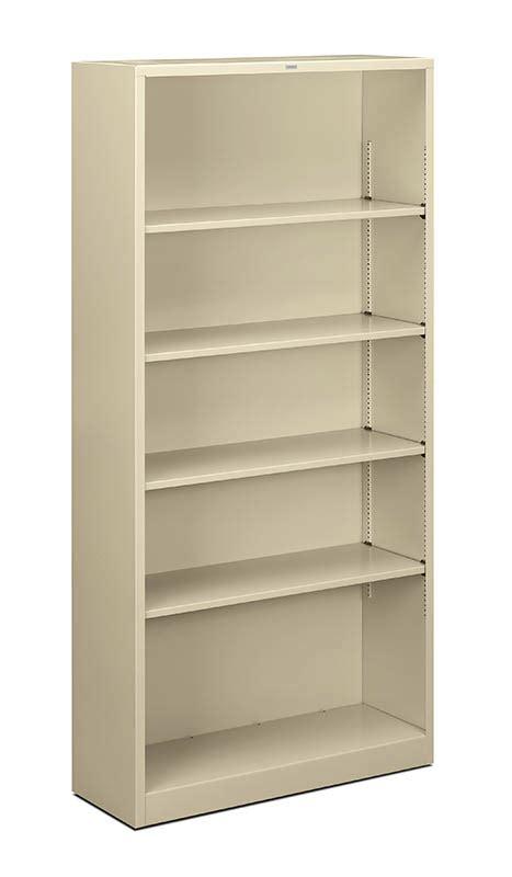 Hon Bookcase by Hon Brigade Metal Bookcase 5 Shelf Studio 71 Gsa Bpa