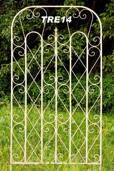 Ornamental Garden Trellis by Wrought Iron Square Garden Trellis 40 Quot Wide