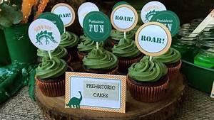 ¿Fiesta de dinosaurios?, mira estas ideas YouTube
