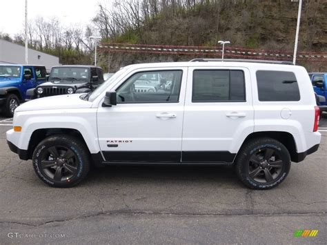 white jeep 2016 2016 bright white jeep patriot sport 111951478 photo 2