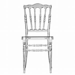 Chaise Plastique Transparente : chaise napol on iii transparente deco et ~ Melissatoandfro.com Idées de Décoration