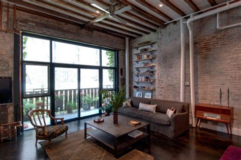 living room apartment 15 gorgeous loft design ideas in industrial style Industrial