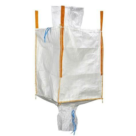 big bag avec goulottes de remplissage de vidange