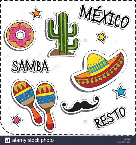 spanish american illustration stock vector images alamy
