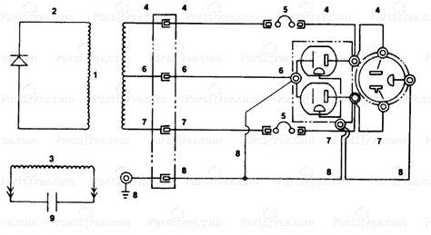 Homelite Wiring Diagram by Homelite Hl4400 Ut 03682 Homelite Generator Wiring