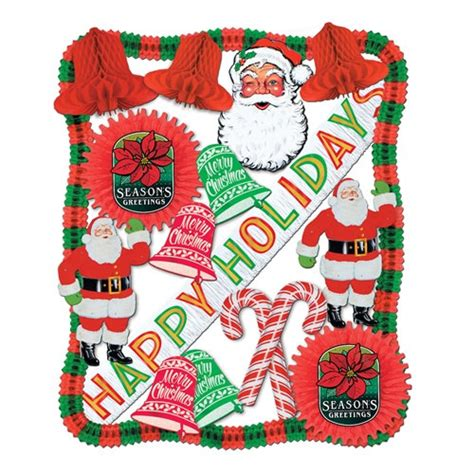 flame retardant christmas decorating kit partycheap