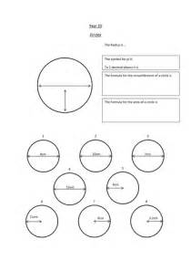 circles introduction and worksheet ks3 or ks4 by teachbynumbers teaching resources