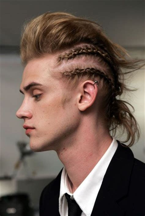 white men with braids and cornrows hairstyles