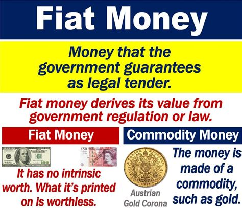 Fiat Currency by What Is Fiat Money Definition And Exles Market