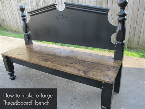 Benches Made Out Of Headboards by Diy Headboard Bench