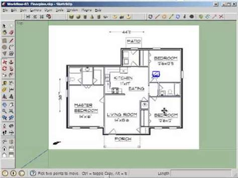 door cut  floorplan walls youtube