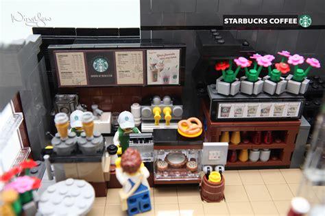 From pc to pocket edition, professional to novice. MOC Starbucks (15)   Support LEGO IDEAS: ideas.lego.com/proj…   WingYew   Flickr