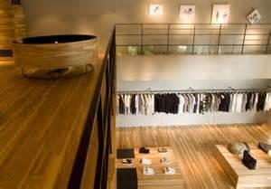 retail design showroom in wood