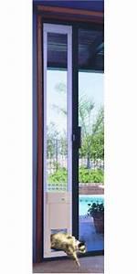 automatic pet door for patio medium opening short height With electronic dog door medium