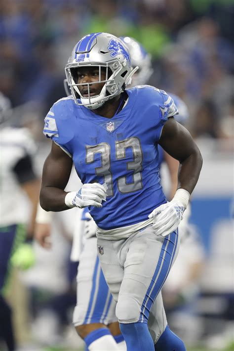 lions place rb kerryon johnson  ir