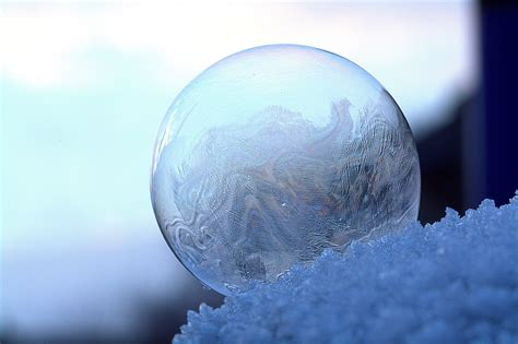 clear glass sphere  stock photo