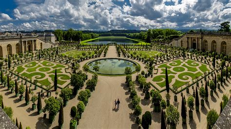 Versailles Jardins Avril by Orangerie Petit Parc De Versailles Parterre Et Bassin