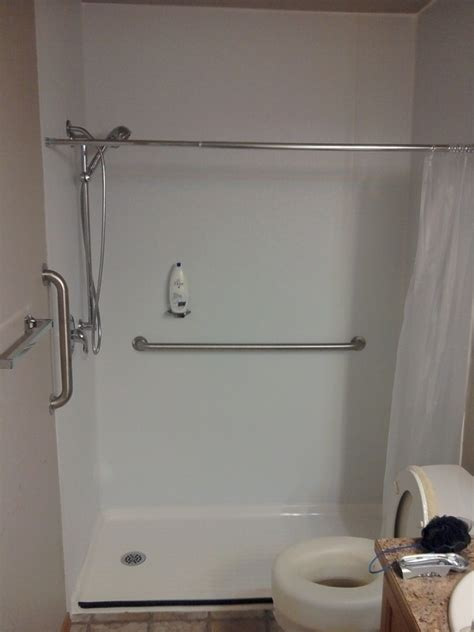 Tub Replacement Shower by Roll In Shower