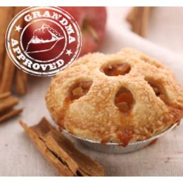 hill country pie kitchen order classic apple pie cups 6 pack hill country pie 4227