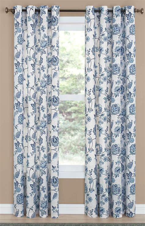 colette grommet curtain denim draperies