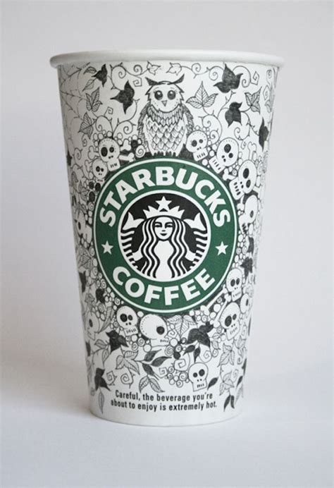 Beautiful Doodles On Starbucks Cups   Foodiggity