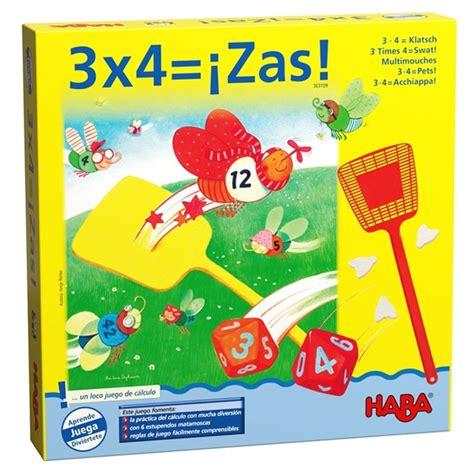 Crea una serie de problemas. 3x4 ZAS! juego de mesa matemático HABA - envío 24/48 horas - kinuma.com