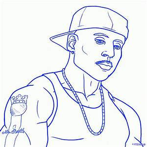 How to Draw LL Cool J, LL Cool J, Step by Step, Music, Pop ...