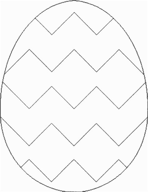 blank bunny template easter egg template   print