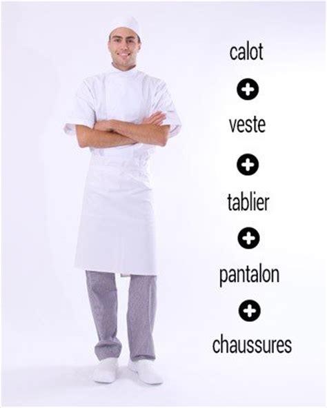 tenu de cuisine vetement de cuisine et tenue de cuisine restauration
