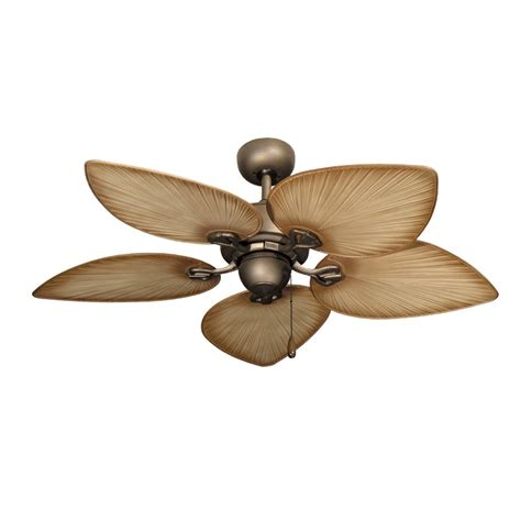 blade fans at lowes 42 inch tropical ceiling fan small antique bronze bombay