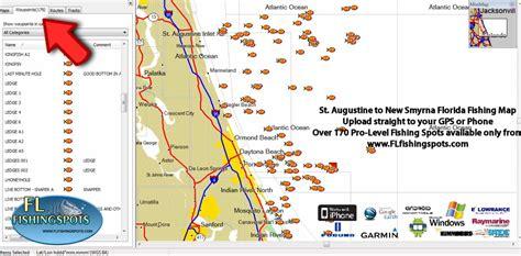 fishing florida spots map gps st maps offshore augustine coordinates lobster spot keys jacksonville info inshore flfishingspots pricing daytona island
