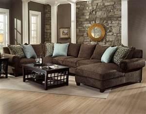 Wohnzimmer Einrichten Brauntöne : ein wohnzimmer in braun wirkt einladend und wohnlich ~ Watch28wear.com Haus und Dekorationen