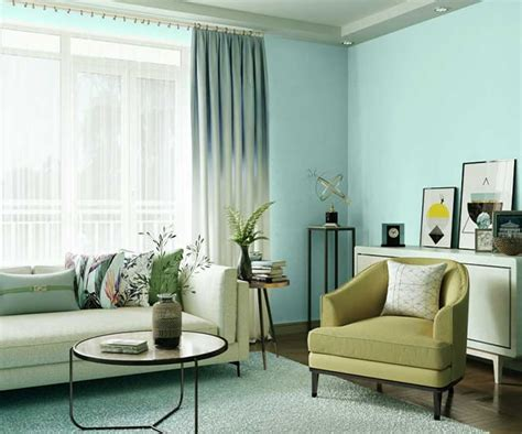 Try Blue Light House Paint Colour Shades for Walls - Asian ...