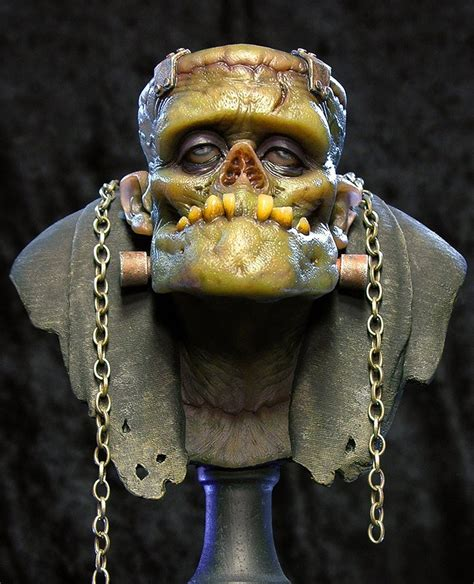 Andy Bergholtz's The Monster Resin Bust (Fully Painted ...