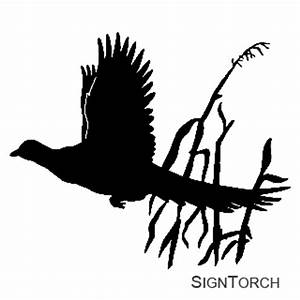 Pheasant Silhouette Clip Art Pictures to Pin on Pinterest ...