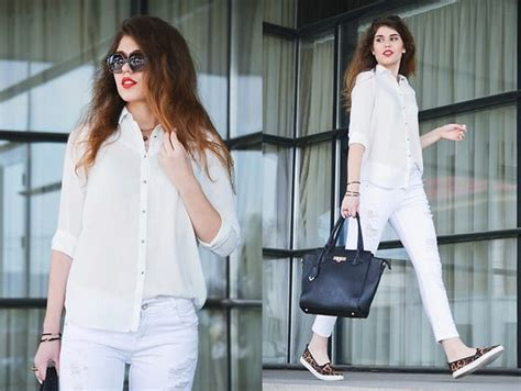white shirt outfits  ways  wear white shirts  girls